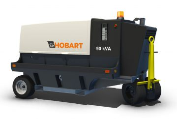 Hobart 4400 60kVA / 90kVA 115/200 VAC 400Hz Tier 4 Diesel Ground Power Unit