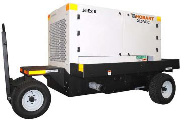 Hobart JetEx 6D 28.5 VDC Tier 3 Diesel Ground Power Unit
