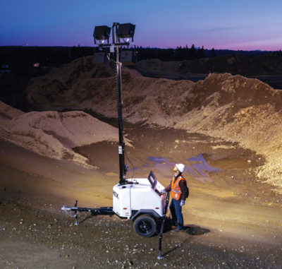 Terex Light Cart