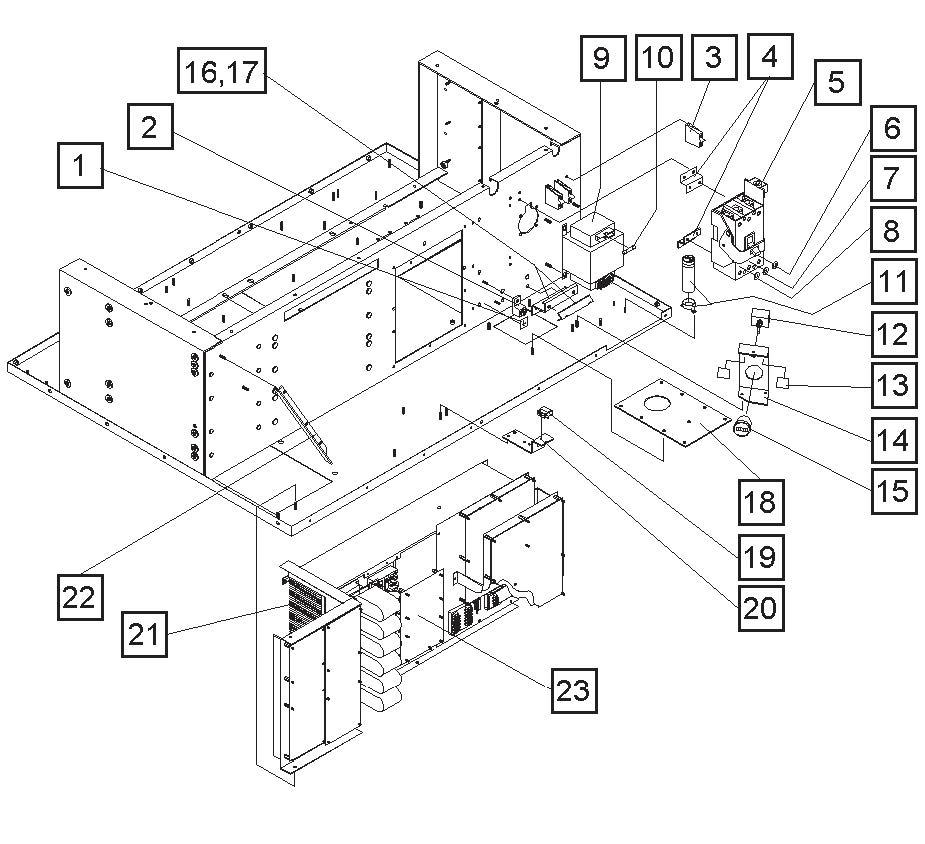 Adv H 4560kva 115200 Vac 400hz 28 5 Vdc Solid State
