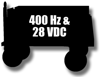 Rental GPU 400Hz & 28 VDC LP